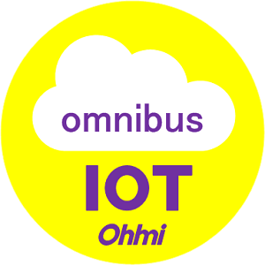 オウミ技研の簡易Iotのシンボルマーク(オムニバス)
